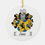Escudo de la familia de Lanza Adornos