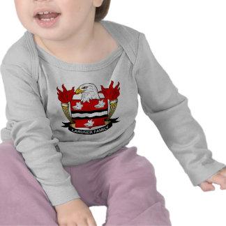Escudo de la familia de Lardner Camisetas