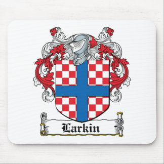 Escudo de la familia de Larkin Mouse Pad