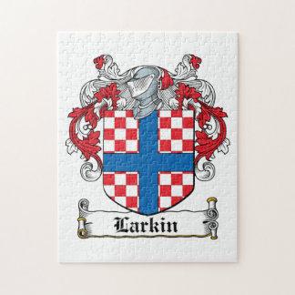 Escudo de la familia de Larkin Rompecabeza