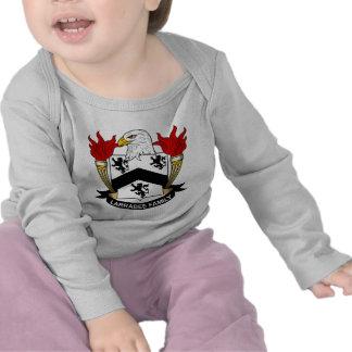 Escudo de la familia de Larrabee Camiseta
