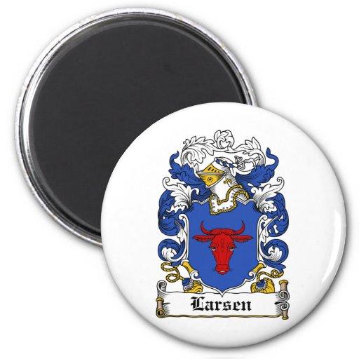 Escudo de la familia de Larsen Iman De Nevera