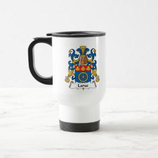 Escudo de la familia de Larue Tazas De Café