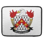 Escudo de la familia de las arboledas fundas para macbook pro