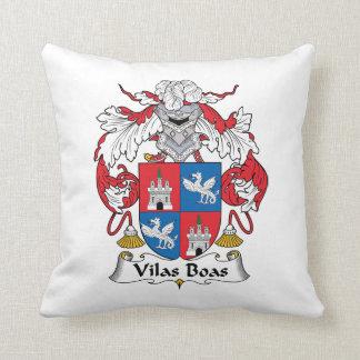 Escudo de la familia de las boas de Vilas Almohadas