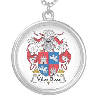 Escudo de la familia de las boas de Vilas Collar Personalizado