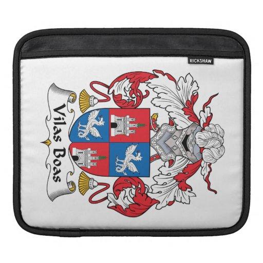 Escudo de la familia de las boas de Vilas Fundas Para iPads