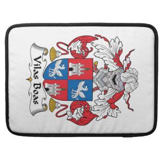Escudo de la familia de las boas de Vilas Funda Para Macbook Pro