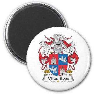 Escudo de la familia de las boas de Vilas Imanes