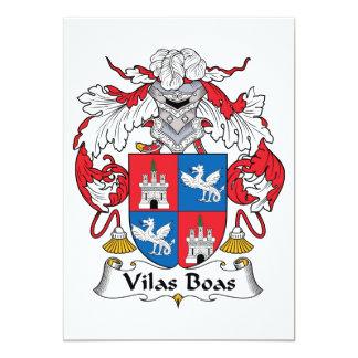 Escudo de la familia de las boas de Vilas Anuncio