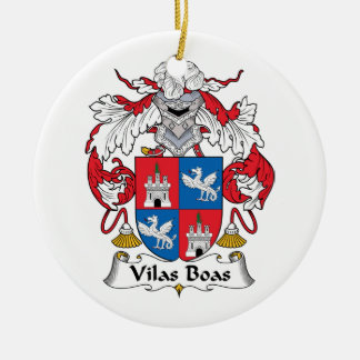 Escudo de la familia de las boas de Vilas Ornatos