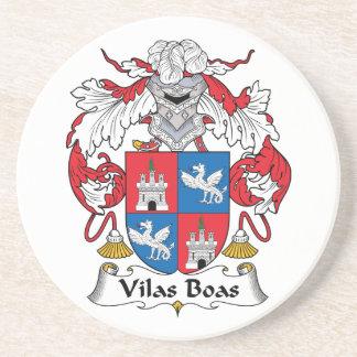 Escudo de la familia de las boas de Vilas Posavasos Diseño