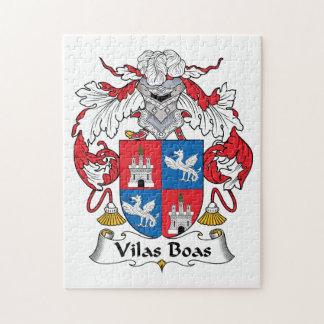 Escudo de la familia de las boas de Vilas Rompecabeza Con Fotos