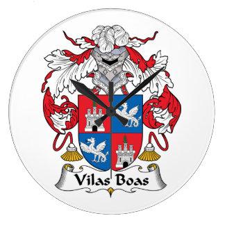Escudo de la familia de las boas de Vilas Reloj