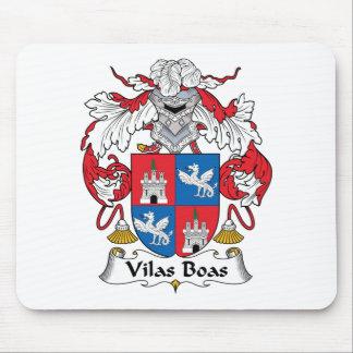 Escudo de la familia de las boas de Vilas Alfombrilla De Ratones
