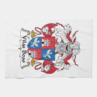 Escudo de la familia de las boas de Vilas Toallas