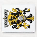 Escudo de la familia de las calderas alfombrilla de raton