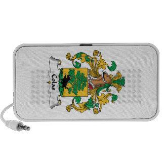 Escudo de la familia de las colas notebook altavoces