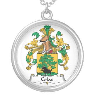 Escudo de la familia de las colas collar personalizado