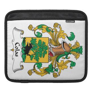 Escudo de la familia de las colas fundas para iPads