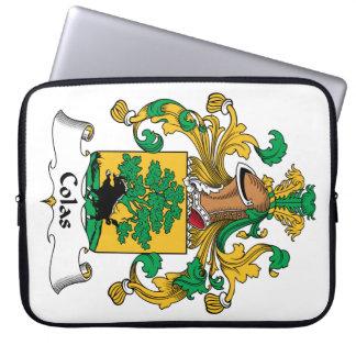 Escudo de la familia de las colas fundas ordendadores