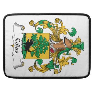 Escudo de la familia de las colas funda macbook pro