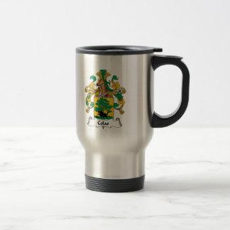 Escudo de la familia de las colas tazas de café