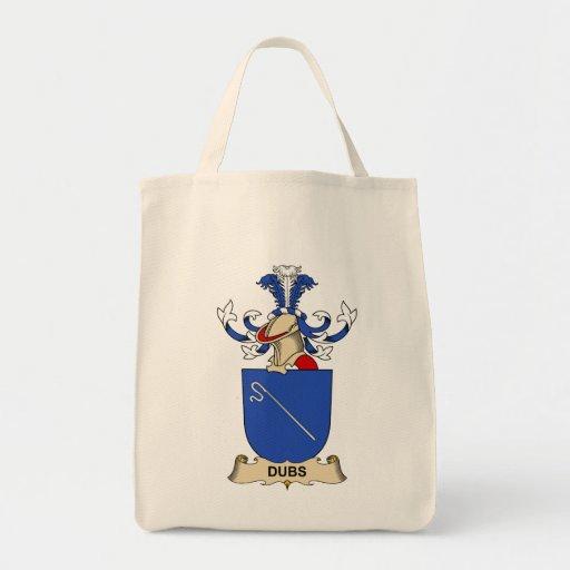 Escudo de la familia de las copias bolsas de mano