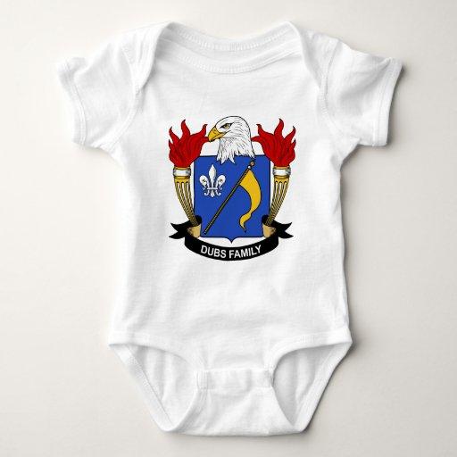 Escudo de la familia de las copias t-shirt