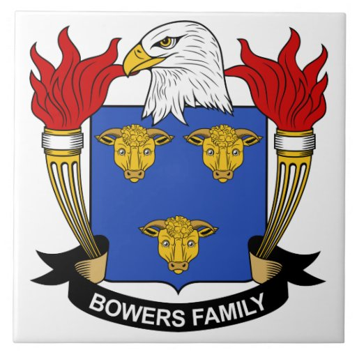 Escudo de la familia de las glorietas azulejo