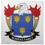Escudo de la familia de las glorietas servilletas de papel