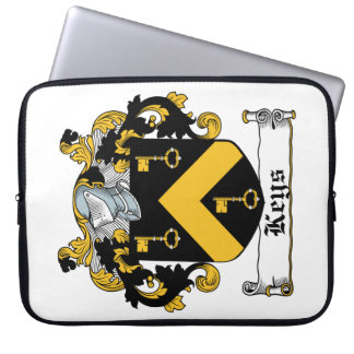 Escudo de la familia de las llaves fundas portátiles