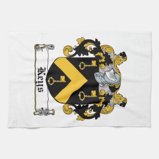 Escudo de la familia de las llaves toalla