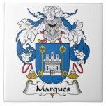 Escudo de la familia de las marcas azulejos ceramicos