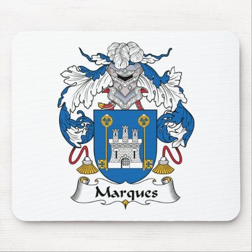 Escudo de la familia de las marcas alfombrillas de ratón