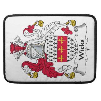 Escudo de la familia de las mechas fundas para macbook pro