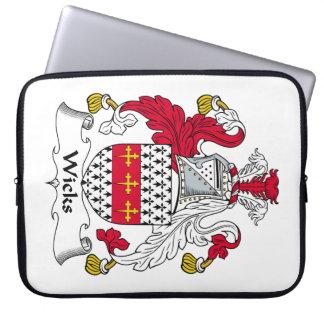 Escudo de la familia de las mechas manga portátil