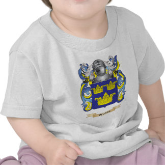 Escudo de la familia de las salas escudo de armas camiseta