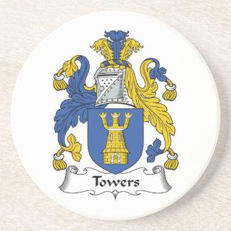 Escudo de la familia de las torres posavasos manualidades