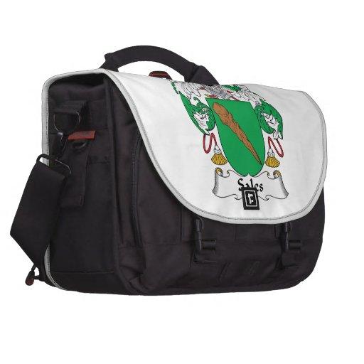 Escudo de la familia de las ventas bolsas de portátil