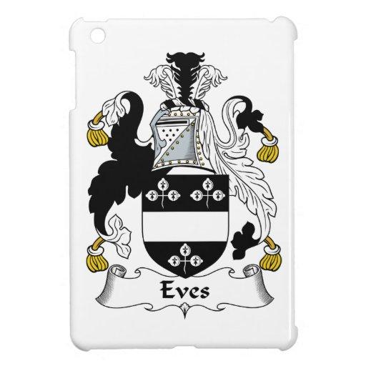 Escudo de la familia de las vísperas iPad mini cárcasas
