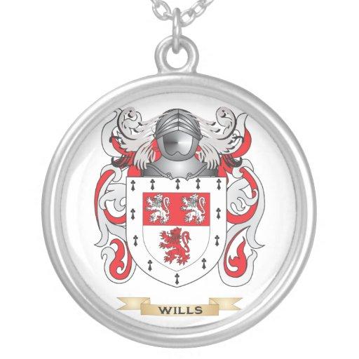 Escudo de la familia de las voluntades (escudo de  colgante redondo