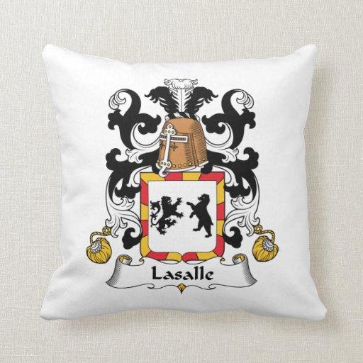 Escudo de la familia de LaSalle Cojín