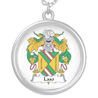 Escudo de la familia de Laso Grímpola