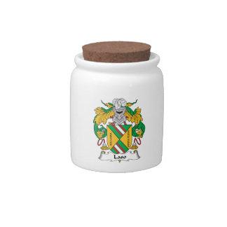 Escudo de la familia de Laso Jarra Para Caramelo