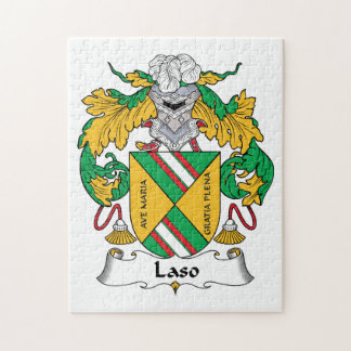 Escudo de la familia de Laso Rompecabeza