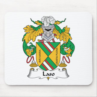 Escudo de la familia de Laso Alfombrillas De Raton