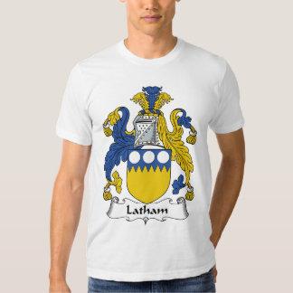 Escudo de la familia de Latham Poleras