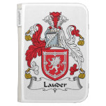 Escudo de la familia de Lauder