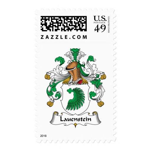 Escudo de la familia de Lauenstein Franqueo